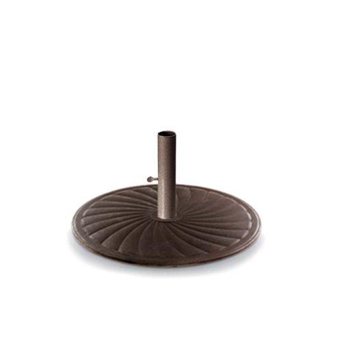 """Umbrella Base & Accessories 24"""" Round Cast Iron Umbrella Base"""