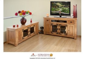 "60"" Wide TV Stand w/4 doors"