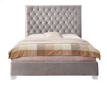 Emerald Home Lacey Upholstered King Bed Kit Gray B132-12-03-k