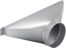 6-Inch Side/Rear Transition for Downdraft CVTSIDE6