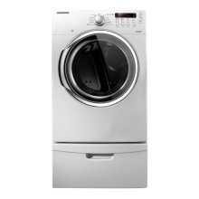 7.3 cu. ft. Capacity Electric Steam Dryer (Neat White)