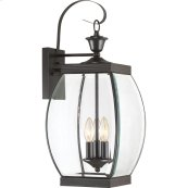 Oasis Outdoor Lantern in Medici Bronze