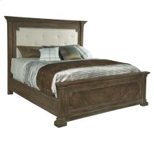 Turtle Creek Upholstered King Panel Bed