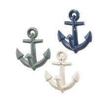 Anchor Wall Hook (3 asstd)