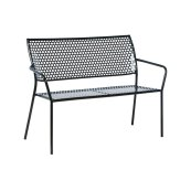 Martini Iron Garden Bench