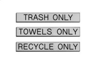 Replacement Label Set for Receptacle Product Image
