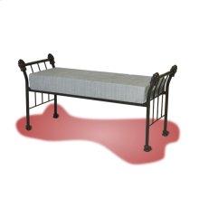 547 Palatial Iron Bench