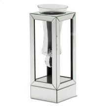Mirrored Glass Small Vase