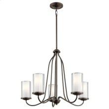Lorin 5 Light Chandelier Olde Bronze®