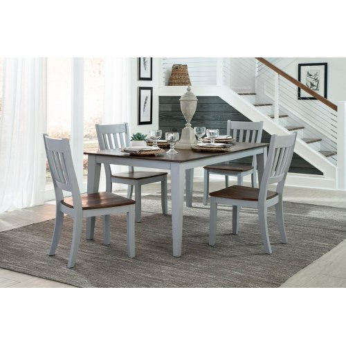 Dining - Small Space Slat Back Side Chair