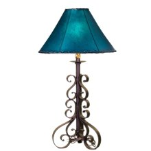 Forged Iron Table Lamp 033 (without shade)