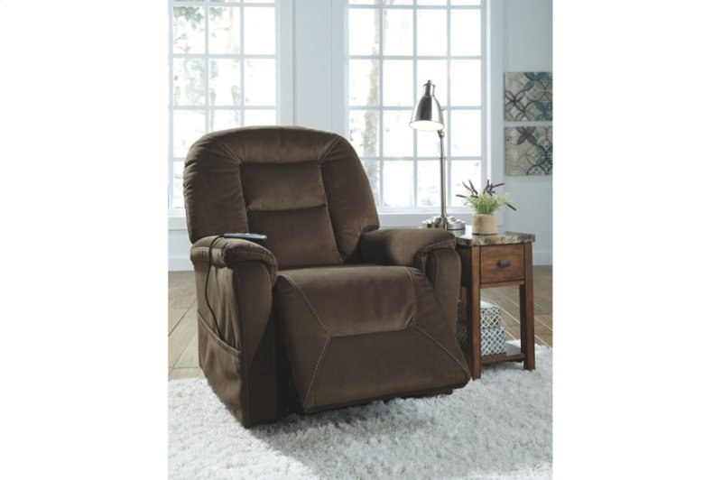 2080112 In By Ashley Furniture In Topeka Ks Power Lift Recliner