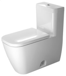 White Happy D.2 One-piece Toilet