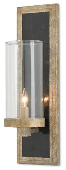 Charade Silver Wall Sconce Product Image