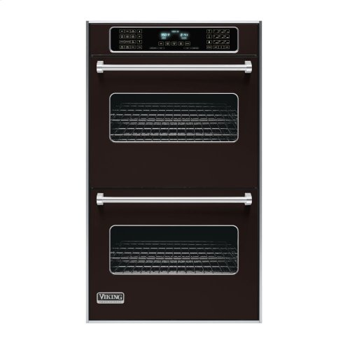 """Chocolate 30"""" Double Electric Touch Control Premiere Oven - VEDO (30"""" Wide Double Electric Touch Control Premiere Oven)"""