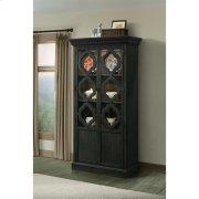 Corinne - Display Cabinet - Ebonized Acacia Finish Product Image