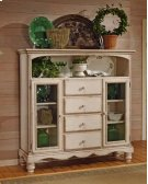 Wilshire Baker's Cabinet Antique White Product Image