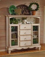 Wilshire Baker's Cabinet Antique White Product Image