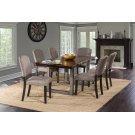Emerson 7pc Rectangle Dining Set - Gray Sheesham Product Image