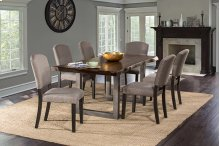 Emerson 7pc Rectangle Dining Set - Gray Sheesham