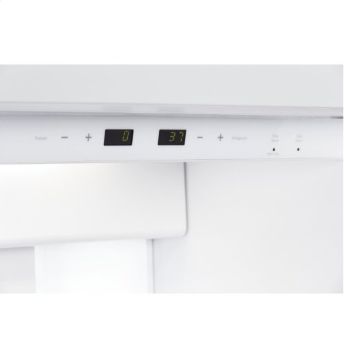 """GE Cafe™ Series 48"""" Built-In Side-by-Side Refrigerator"""
