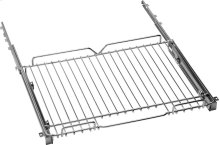 """Telescopic glide shelf kit for 24"""" ranges Stainless steel"""
