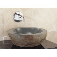 Natural Vessel Gray Granite