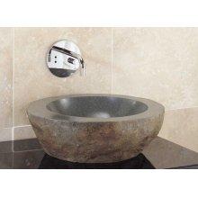 Natural Vessel Gray Granite
