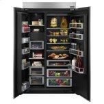 "Jenn-Air 48"" Built-In Side-By-Side Refrigerator"