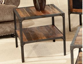 Emerald Home Laramie End Table Medium Brown T4791