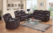 8001 Brown Power Reclining Loveseat Product Image