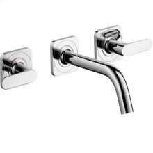 Chrome Citterio M Wall-Mounted Widespread Faucet