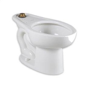 Madera 1.1-1.6 gpf Top Spud ADA Elongated Bowl  American Standard - White
