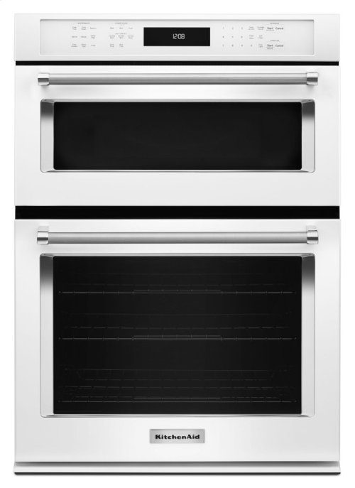 """27"""" Combination Wall Oven with Even-Heat True Convection (lower oven) - White"""
