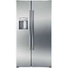 Counter Depth Side by Side Refrigerator 500 Series - Stainless Steel