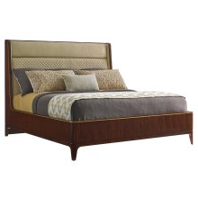 Empire Upholstered Platform Bed Queen