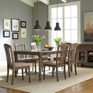 Liberty Furniture Industries7 Piece Rectangular Table Set