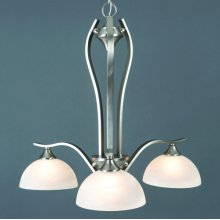 Glacier Point Collection Three-Light Incandescent