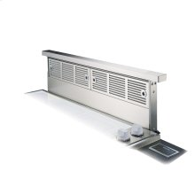 "Stainless Steel 30"" Rear Downdraft with Remote Mounted Controls - VIPR (30"" width, with remote-mounted control)"