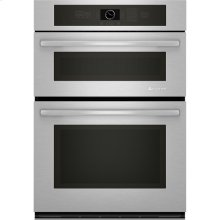 "Combination Microwave/Wall Oven, 30"", Euro-Style Stainless Handle"