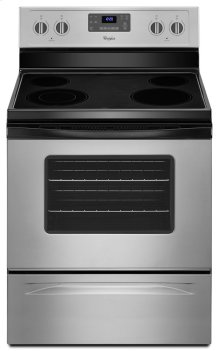 WFE515S0ED - 5.3 Cu. Ft. Freestanding Electric Range with Easy Wipe Ceramic Glass Cooktop - ONLY AT JONESBORO LOCATION!