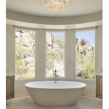 Alissa  71-In, Large, Stunning Freestanding Tub