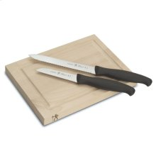 Henckels International Accessories 3-pc Bar Knife & Board Set