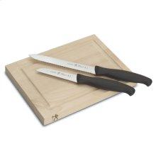 Henckels International Accessories 3-pc Bar Knife & Board Set