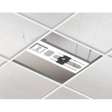 """Above Tile Suspended Ceiling Kit & 3"""" Fixed Pipe"""
