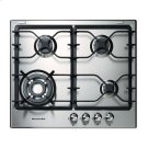 KitchenAid® 4 Burners Stainless Steel Surface 24-Inch Gas Cooktop Product Image