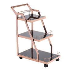 Acropolis Serving Cart Rose Gold Product Image