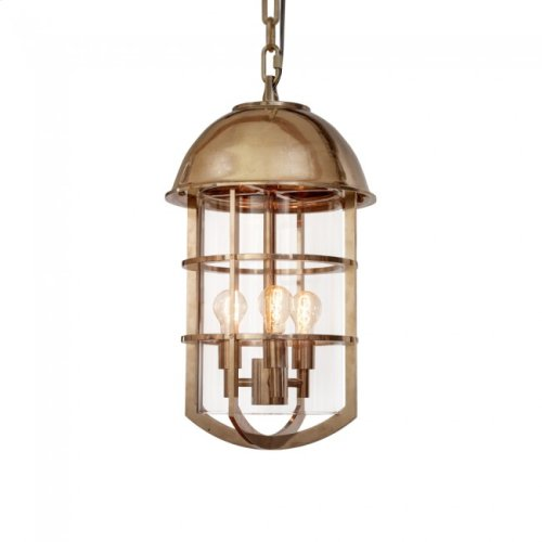 Cargo Pendant - PE530 Silicon Bronze Brushed