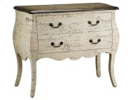 Bombe chest 2 drawer scri