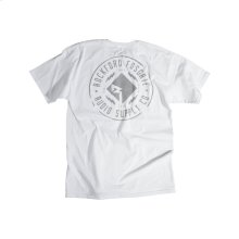 White T-shirt w/ RF 3M Graphic-L